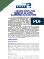 PET Conhecendo Mtodos Parasitolgicos de Fezes