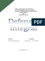Defensa Integral de La Nacion Yusmary