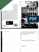 Peter Burke - Formas de Hacer Historia