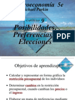 Cap 9- Posib y Preferencias