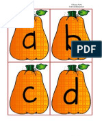Pumpkin ABC's