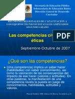 PRESENTACIÓN DE COMPETENCIAS