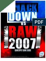 Smackdown vs Raw 2007 Manual