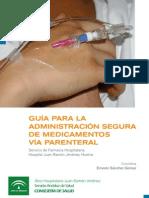 Guía de administración segura de medicamentos via parenteral