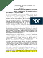 Protocolo Innovación y desarrollo en la formación profesional en Turismo PROMEP final