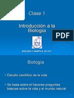 Clase 1 Introduccion Biologia