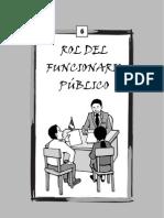 06 Rol Del Funcionario Publico