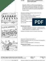 RA  Dépose et repose ou remplacement de la pompe d'injection (M51)