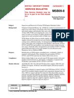 Continental Service Bulletin (Msb09-8)