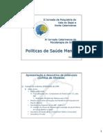 Politica Saude Mental - Baln Camboriu 2006