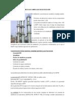 Mezclas Complejas en Destila