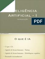 Inteligencia Artificial I - introduçao