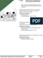 RA  Dépose et repose ou remplacement de la barre antiroulis avant (version de base)