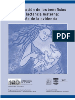 Cuantificacion Beneficios Lactancia Materna