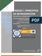 Principios de Refrigeracion Unidad 1