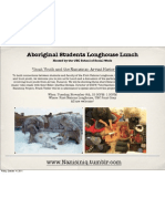 Aboriginal Students Longhouse Lunch