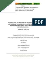 FATLA - Equipo M - Fase de Investigacion - Aplicacion de La Metodologia PACIE en Una Institucion de Postgrado Univ Beta Panama