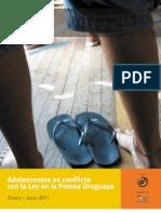 Adolescentes Conflicto Con La Ley en La Prensa Uruguaya 2011