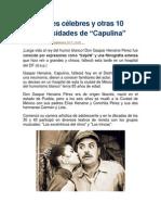 10 curiosidades de Capulina