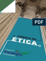 Codigo de Etica Psicologos Guatemala