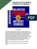 Potencia.ilimitada.con.Tony.Robbins.Live.por.Anthony.Tony.Robbins.5.estrellas.revisión