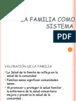 La Familia Como Sistema