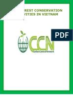 Rain Forest Conservation Activities in Vietnam