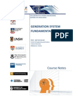 UGSE1_Generation System Fundamentals Course Notes_Final 2010