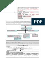 formulario descriptivo y de requerimiento