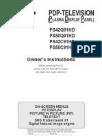 Samsung Ps-50q91hddx Pdp Tv