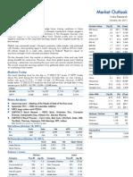 Market Outlook 20th October 2011