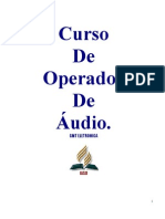 Apostila Curso de Operador de Audio