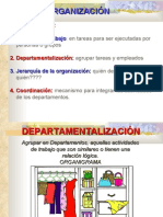 Organización - Organigramas