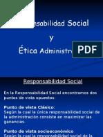 Responsabilidad Social y Etica
