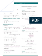 Algebra Pre Cocientes Notables Resueltos