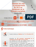 Intention de Vote Bva Orange Presse Regionale Rtl