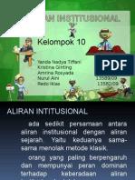 Aliran Institusional (Print)