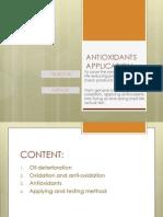 Antioxidants Application 2