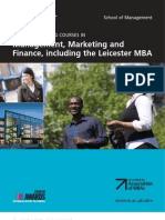 Liecester Mba It