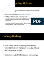 Sumber-Sumber Hukum (1)