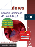 Simulacros de Examen - Celadores del Servicio Extremeño de S