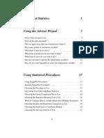 Sigma Plot Statistics User Guide