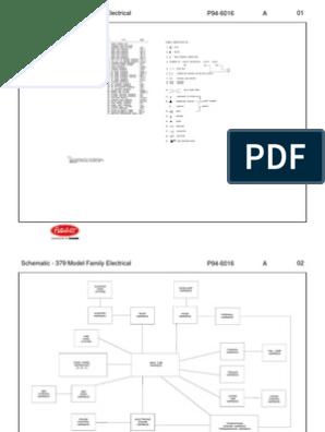 PETERBILT 379 Diagramas Electricos Cabina | Vehicle