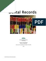 Dental Practice Dental Records