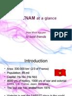Vietnam at a glance [Minh Nguyen]