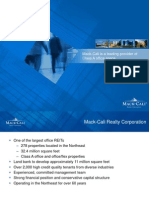 Mack-Cali is a leading provider of Class A office space.