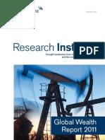 Credit Suisse 2011 Global Wealth Report