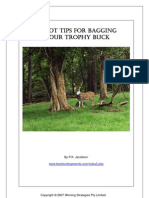 10 Yips to Bagging Your Trophy Buck