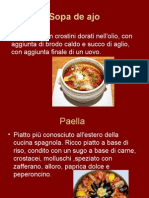 I Piatti Tipici Della Spagna