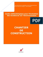 Chantier de Construction